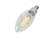 Maxlite Dimmable 4W 2700K Decorative Filament LED Bulb, JA8 Compliant, Enclosed Fixture Rated