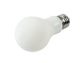 Archipelago Dimmable 7.5W 3000K A19 Filament LED Bulb, Enclosed Fixture and Wet Rated