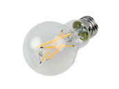 Maxlite Dimmable 8.5W 2700K A19 Filament LED Bulb, 91 CRI, JA8 Compliant, Enclosed Fixture and Wet Rated