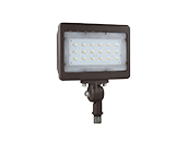 NaturaLED 175 Watt HID Equivalent, 30 Watt 4000K LED Flood Light Fixture With 1/2