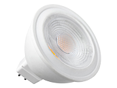 Sunlite Non-Dimmable 5W 3000K 120V 38 Degree MR16 LED Bulb, GU5.3 Base, Enclosed Fixture Rated