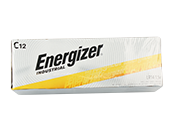 Energizer Industrial Alkaline C Batteries, 24 Pack
