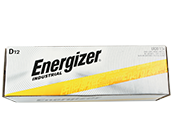 Energizer Industrial Alkaline D Batteries, 24 Pack