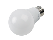 TCP Non-Dimmable 7.5 Watt 120-277 Volt 3000K A-19 LED Bulb, Enclosed Fixture Rated