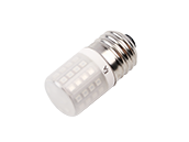 EmeryAllen 3 Watt Amber Turtle Safe Bulb, E26 Base, Non-Dimmable