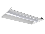 Maxlite Dimmable 30 Watt 3500K 2x4 ft LED Recessed Troffer Fixture with Bi-Level Motion Sensor