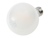 Maxlite Dimmable 4.5 Watt 2700K G25 Globe LED Bulb, Enclosed Fixture and Wet Rated