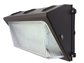 50 Watt, 175 Watt Equivalent 5000K Forward Throw LED Wallpack Fixture