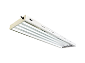 UltraGrow 4 Foot 4 Lamp 6500K T5 Plant Grow Fixture