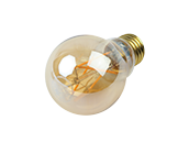 NaturaLED Dimmable 6.5W 2200K 90 CRI A-19 Vintage Filament LED Bulb, Outdoor Rated and JA8 Compliant