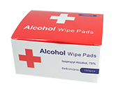 Alcohol Prep Pads (Pack of 100)
