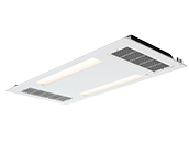 Healthe Cleanse 2x4 Troffer LED 3000K Standard Lighting, UVC and HEPA Air Filter