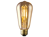 Archipelago Dimmable 3.5W 2200K ST19 Vintage Filament LED Bulb, Enclosed Fixture and Outdoor Rated