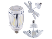 Satco 250 Watt Equivalent, 60 Watt 5000K LED Multi-Beam Retrofit Lamp, Ballast Bypass