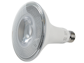 90+ Lighting Dimmable 12 Watt 2700K 40 Degree 90 CRI PAR38 LED Bulb, Title 20 Compliant, and Wet Rated