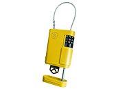 Kidde Yellow Locking Stor-A-Key Case With Cable