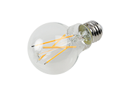 Bulbrite Dimmable 8.5W 2700K A19 Filament LED Bulb, Enclosed and Wet Rated, JA8 Compliant