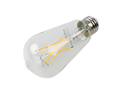 Bulbrite Dimmable 8.5W 3000K 90 CRI ST18 Filament LED Bulb, JA8 Compliant, Outdoor and Enclosed Rated