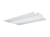 400 HID Equivalent, 130 Watt Dimmable 5000K LED High Bay Linear Fixture (Pack of 2)