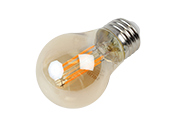 Philips Dimmable 3.3W 2000K A15 Filament LED Bulb, Outdoor Rated