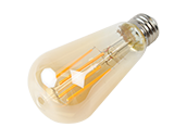Halco Dimmable 8W 2200K Vintage ST19 Filament LED Bulb