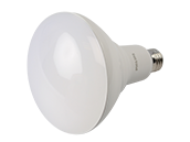 Philips Dimmable 20W High Output Warm Glow 2700K to 2200K BR40 LED Bulb, Enclosed Fixture Rated, Title 20 Compliant