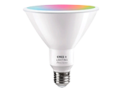 Cree Tunable White & Color Changing Bluetooth & WiFi 14 Watt 90 CRI PAR38 LED Bulb, No Hub Needed, Title 20 Compliant, Outdoor Rated