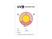 LumiCleanse UVC Dosimeter Measuring Card (Pack of 10)