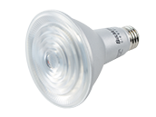Bulbrite Dimmable 10W 25° 3000K PAR30L LED Bulb, Enclosed and Wet Rated