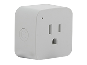 Satco Starfish WiFi Smart Mini Square Plug-In Outlet, 10 Amp (Pack of 2)