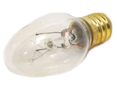 Bulbrite 4W 120V C7 Clear Night Light E12 Base