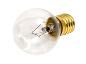 Bulbrite 40W 120V S11 Clear Sign Bulb, E17 Base