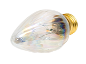 Bulbrite 25W 130V F15 Clear Fiesta Decorative Bulb, E26 Base