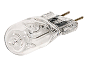 Bulbrite 35W 120V T4 Clear Halogen 6.35mm Bipin Bulb