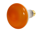 Bulbrite 75W 120V BR30 Amber Reflector E26 Base