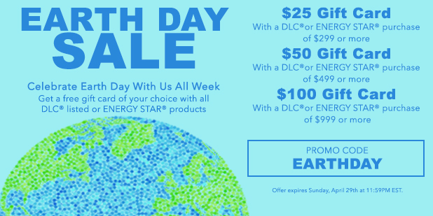 Save on energy-saving products.