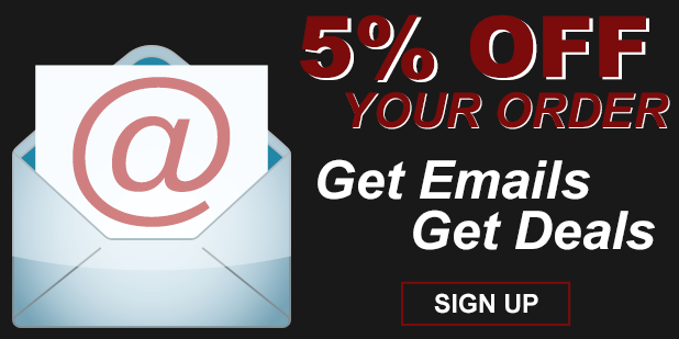 Get great deals, sign up for emails