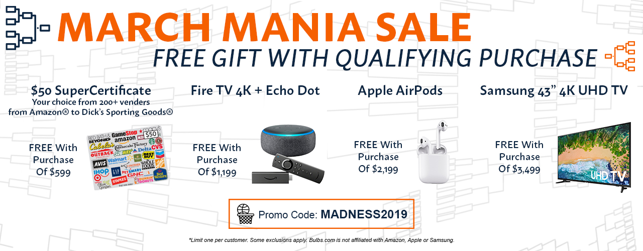 Free gift with qualifying purchase - use code MADNESS2019 at checkout.