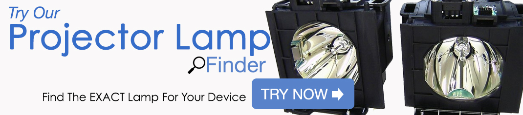 Try our Projector Lamp Finder