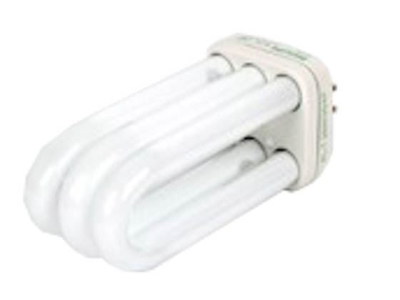 who invented fluorescent bulb
