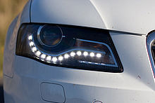 Automobile LED lighting