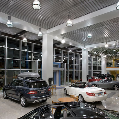 Automotive Dealership Lighting
